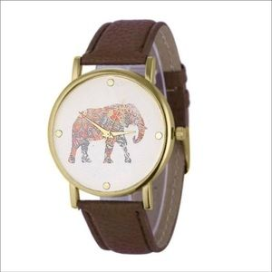 Accessories - Brown Elephant Watch